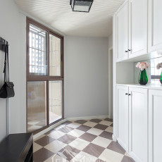 质朴124平简约三居卫生间装饰图