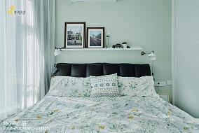 热门108平米三居卧室美式装修设计效果图片