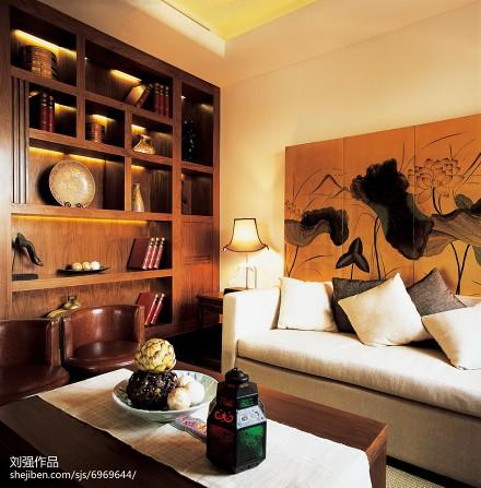 面积142平别墅休闲区混搭装修欣赏图片客厅1图