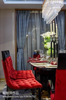 精美混搭餐厅装修实景图片大全厨房潮流混搭设计图片赏析