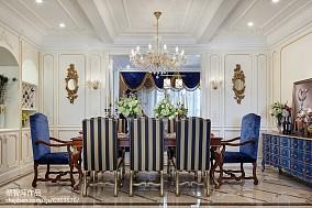 热门欧式餐厅装修效果图片大全样板间欧式豪华家装装修案例效果图