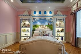 精美儿童房欧式装修实景图片大全样板间欧式豪华家装装修案例效果图