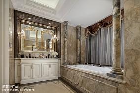 精美欧式实景图片样板间欧式豪华家装装修案例效果图