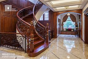 优雅563平美式别墅实景图片别墅豪宅美式经典家装装修案例效果图