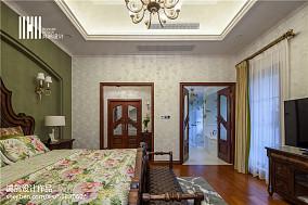 休闲美式风格卧室装修图别墅豪宅美式经典家装装修案例效果图
