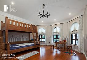 美式风格儿童房装修效果图别墅豪宅美式经典家装装修案例效果图
