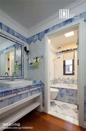 家装美式风格卫浴装饰图卧室美式经典卧室设计图片赏析