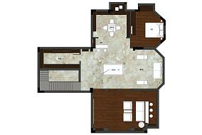 轻奢274平美式别墅装饰美图别墅豪宅美式经典家装装修案例效果图