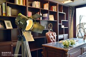 精美118平米四居书房新古典装修图片欣赏功能区