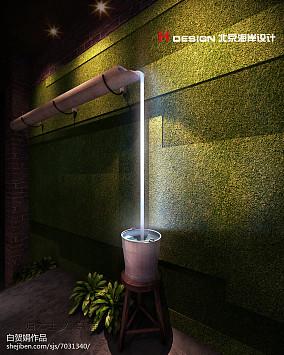现代公共建筑卫生间设计室内效果图片
