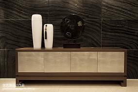 面积104平中式三居客厅效果图片三居中式现代家装装修案例效果图