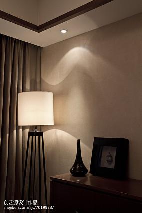 精美97平米三居客厅中式装修实景图片大全三居中式现代家装装修案例效果图