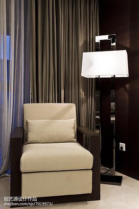 平方三居客厅中式欣赏图片三居中式现代家装装修案例效果图