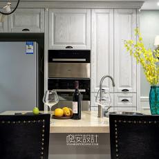 质朴69平美式复式厨房图片欣赏