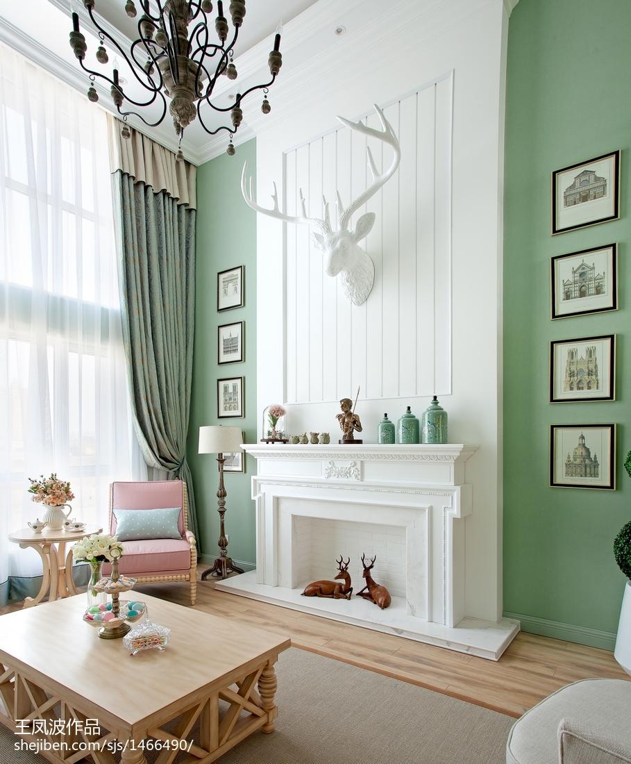 精选125平米混搭复式客厅装修欣赏图客厅2图