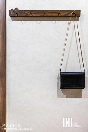 2018精选112平米日式复式玄关装饰图家装装修案例效果图
