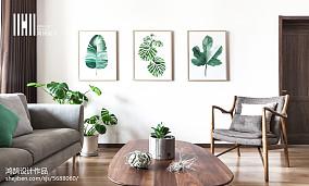 典雅77平日式复式休闲区装修装饰图复式日式家装装修案例效果图