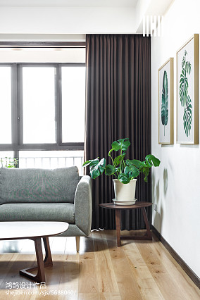 典雅71平日式复式休闲区装修图片复式日式家装装修案例效果图