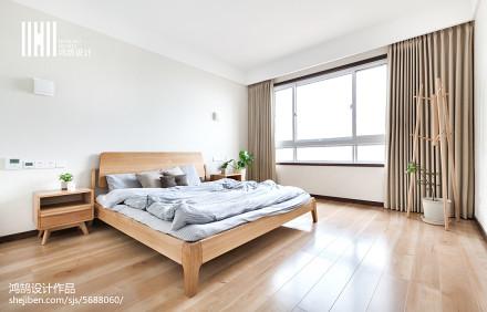 浪漫82平日式复式卧室装修装饰图