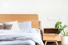 典雅50平日式复式卧室图片欣赏复式日式家装装修案例效果图