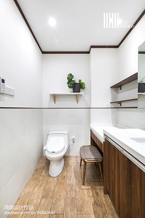 华丽43平日式复式实景图片卫生间1图日式设计图片赏析