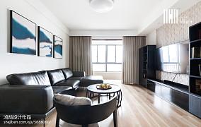 精美面积126平复式客厅日式装饰图片欣赏复式日式家装装修案例效果图