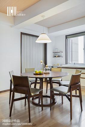2018精选复式餐厅日式装修图片欣赏复式日式家装装修案例效果图