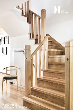 简洁48平日式复式装修图复式日式家装装修案例效果图