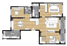 浪漫70平日式复式装修效果图复式日式家装装修案例效果图