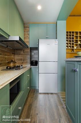 精选面积87平小户型厨房东南亚装修图片