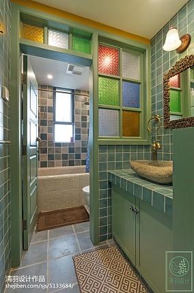 东南亚风格卫浴设计案例卫生间设计图片赏析