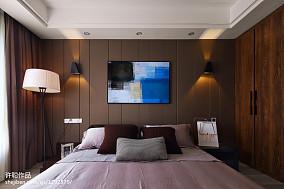 精选100平米三居卧室简约效果图片