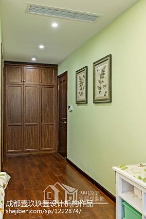 明亮66平美式二居卧室设计效果图卧室1图美式经典设计图片赏析