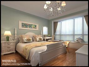 热门田园复式卧室装修设计效果图片欣赏