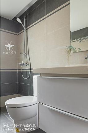 2018精选日式四居卫生间装修设计效果图卫生间日式设计图片赏析