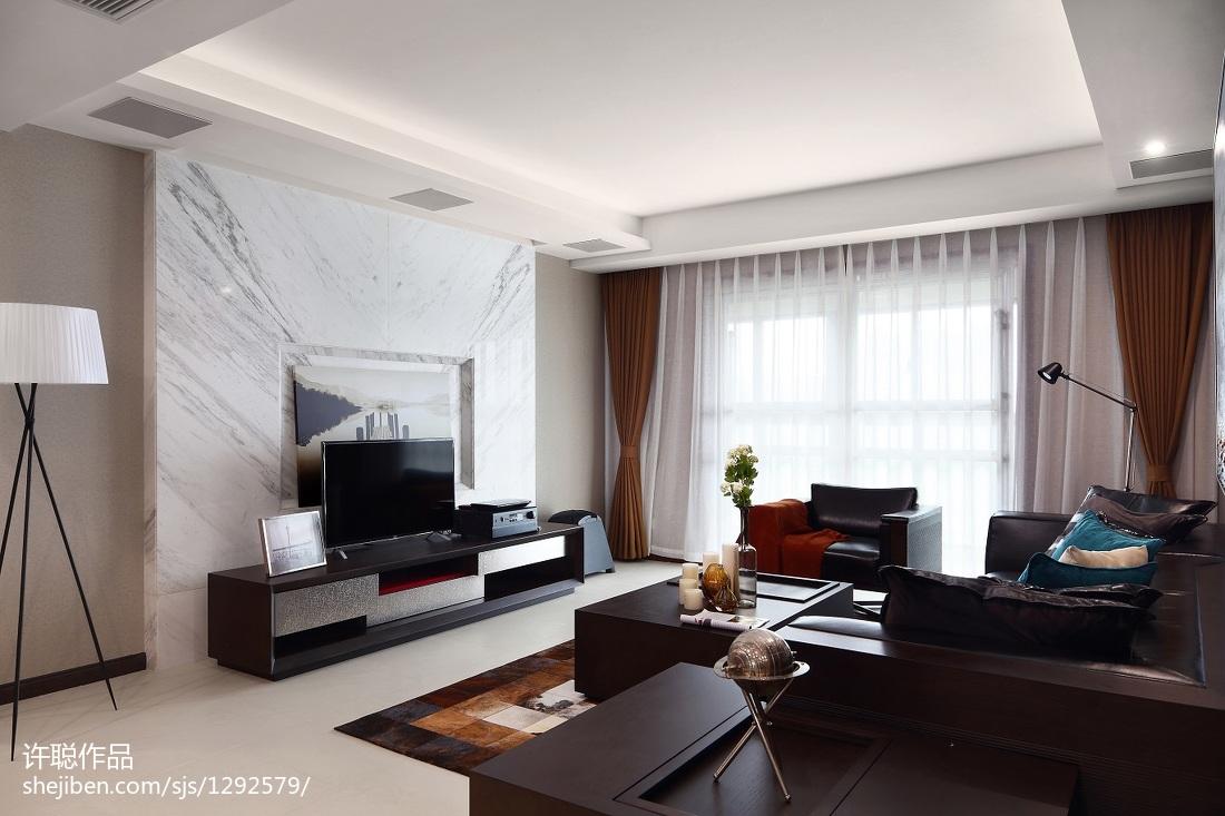 简约风格背景墙设计案例客厅现代简约客厅设计图片赏析