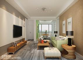 现代三室一厅家居客厅图片
