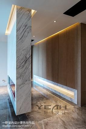 热门面积106平简约三居客厅装修设计效果图片欣赏