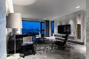 精美面积97平简约三居客厅效果图片