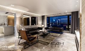 精美103平米三居客厅简约装修效果图片欣赏