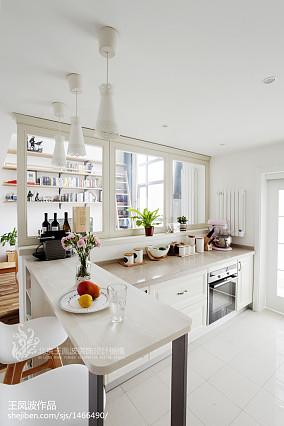 2018精选复式厨房日式装修效果图片复式日式家装装修案例效果图