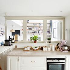 精美面积120平复式厨房日式效果图片