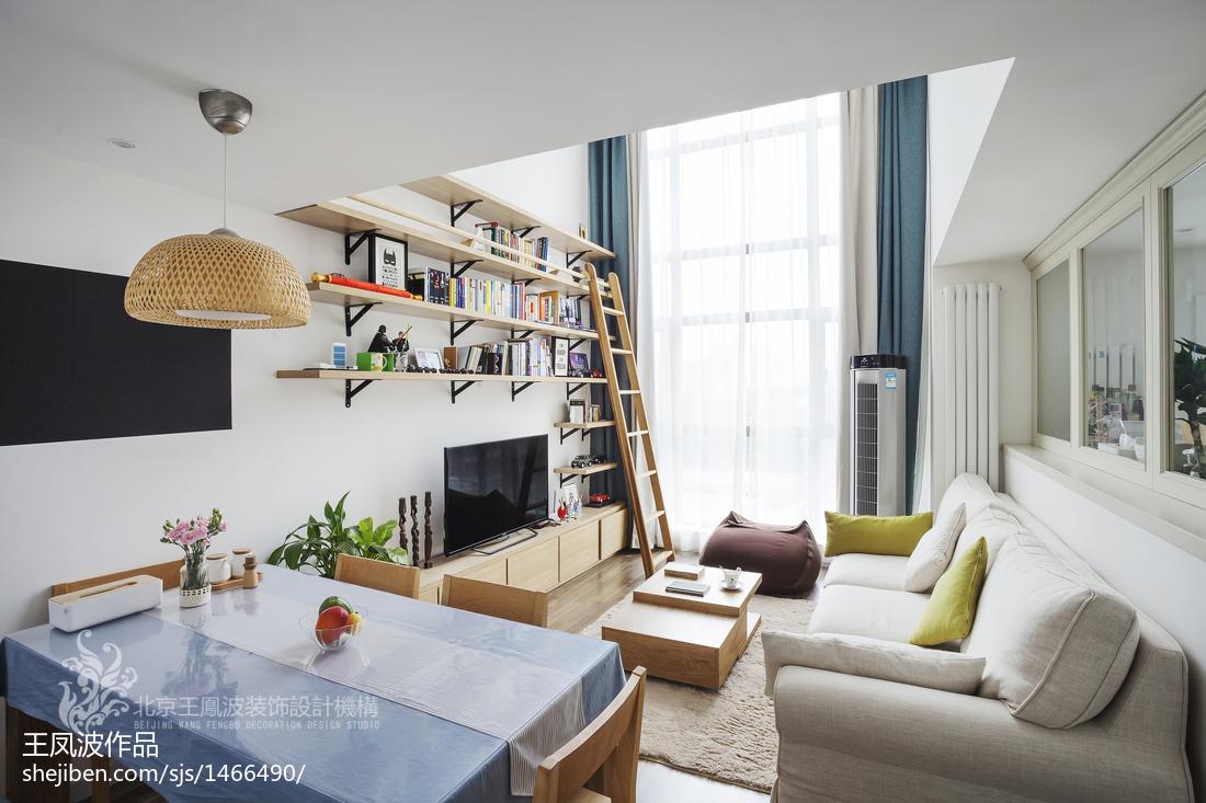 2018精选面积123平复式客厅日式装饰图片大全客厅日式客厅设计图片赏析