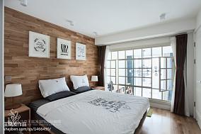 热门125平米日式复式卧室装修效果图片大全复式日式家装装修案例效果图