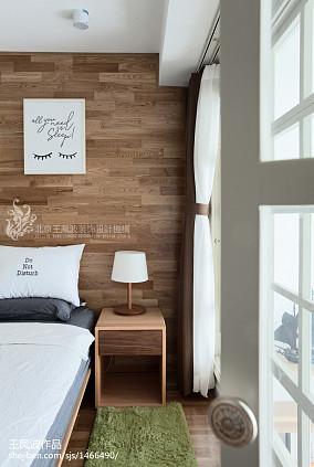 精美120平米日式复式卧室装修实景图片大全复式日式家装装修案例效果图