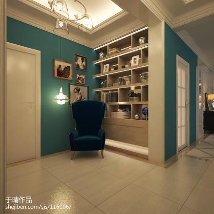 北京室内设计师于晴作品【精致美式】功能区