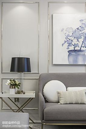 精选欧式客厅装修图片样板间欧式豪华家装装修案例效果图