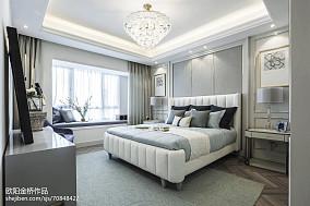 2018精选卧室欧式装修欣赏图样板间欧式豪华家装装修案例效果图