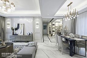精选欧式过道装修欣赏图样板间欧式豪华家装装修案例效果图