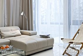 精美129平方现代别墅客厅实景图片